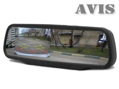 Зеркало с видеорегистратором и камерой заднего вида